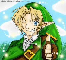 Link can be cool 8D by Helonzyz