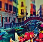 Rainbow colors in Venice HDR by marjol3in1977
