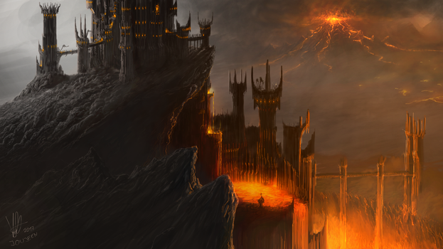 BARAD DUR by Joujeen