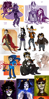 Homestuck dump 4 by SIIINS