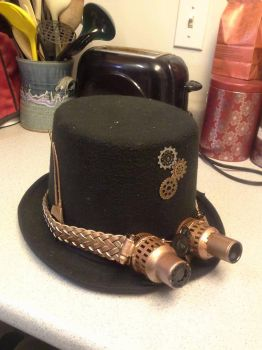 Steampunk Hat by Telonial