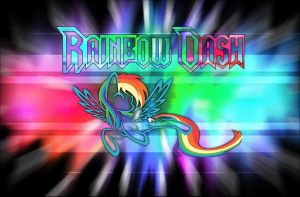 Rainbow Dash Plasma Explosion Background by colonelchris
