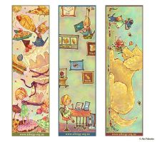 bookmark design by aki-art