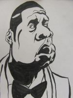 jay-z caricature... by jaiquanfayson