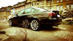 black BMW 530i e60 by DimitriBokowPhoto