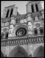 Notre Dame Cathedral by Lilith1985