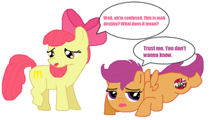 What my cutie mark is telling me XD by LaLaLaNiceLady