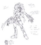 :Concept Comm: Cyborg Zachary by CY-Souls