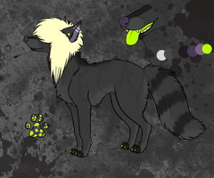 Scenedog Adoptable 5 [AUCTION!!] (CLOSED) by Xecax