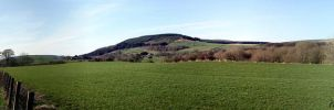 Panorama Southern Uplands by printsILike