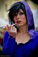 With Pipe ~ Madam Shirley by Brillhart