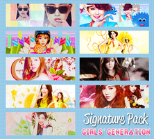 Signs Pack - Girls' Generation - 6th Anniversary by lapep999