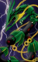 Mega Rayquaza by Raidenki21