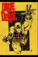 DareDevil w Logo by Kid-Destructo