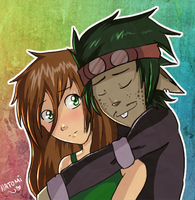 Vance and Arelle by Natomi
