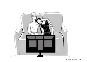 Intimate Cute Moment - NaruHina by squidge16
