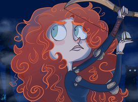 Brave Merida by Fly-Andi