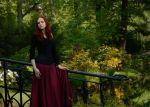 Lady in the Park by Luin-Tinuviel