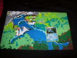 Vaporeon Perler DONE by echaltraw