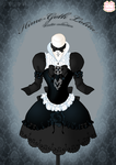 Hime-Goth Lolita Winter Dress by Neko-Vi