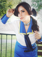 Elizabeth Comstock - BioShock Infinite cosplay by VickyxRedfield