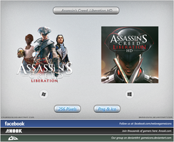 Assassins Creed: Liberation HD - Icon by Crussong