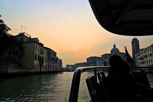 Venice at Sunset by CorazondeDios