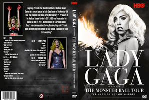 Lady GaGa The Monster Ball Tour DVD Cover by GaGanthony
