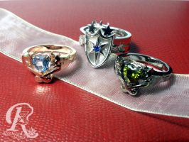 MLP This Day Aria rings set 01307TDA by RealizedStudio