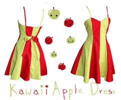 Apple dress by PaperStag
