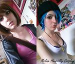 Life is Strange Cosplay - Chloe and Max by HeartillyMel
