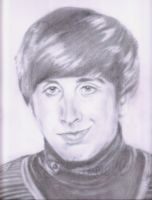 Simon Helberg - Howard '10 by Shlynn