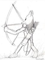Maned Wolf Archer by remanlongtail