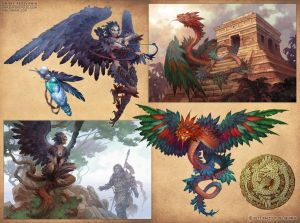 Mythical Monsters by D8P