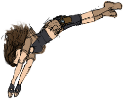 Diving Kat by Stella--Marie