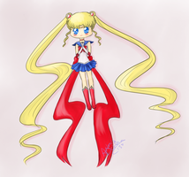 Sailor Moon by ArtemisDahlia