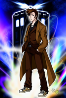 Tenth Doctor by TwinEnigma