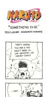 Naruto Doujinshi - Something Else by SmartChocoBear