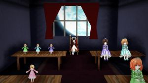 Mad Father MMD: Doll Room DL V 1.0 by DollyStrawberry