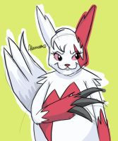 Zangoose by skeletall