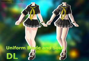 MMD BLADE AND SOUL Uniform [DL CLOSED] by Milionna