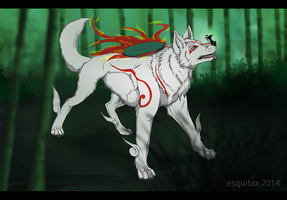 [Okami] Where to, Issun? by Esquitax