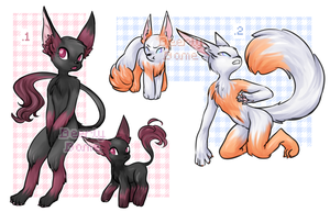 Anthro/furry/??? adoptables [CLOSED] by DeerlyDame