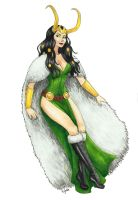 Lady Loki by Xijalle