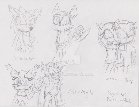 More Future Children- FC and OC Request 4 by Gheroes48