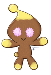 Xmas gingerbread Chao by Metal-CosxArt