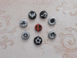 SSBB Charms by GandaKris