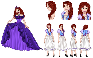 Auction : Adoptable Disney Character  (OPEN ) by JessyB-Design