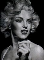 the legendary marilyn monroe by aramismarron