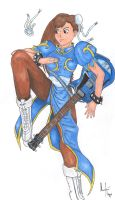 Chun-Li - LLR'n'R - 5th by TheLandoBros